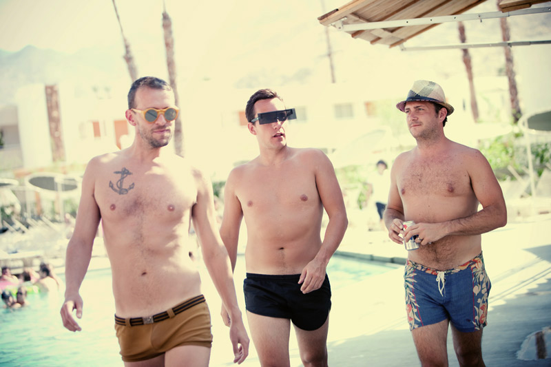Palm springs shaved boys