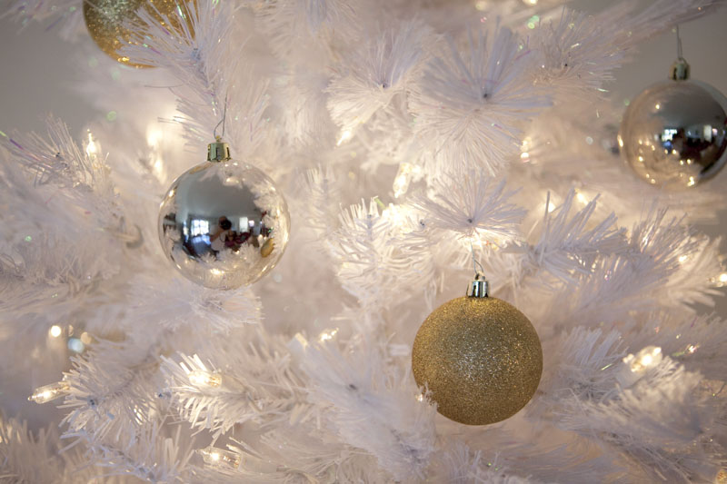 pin - Christmas White Lights