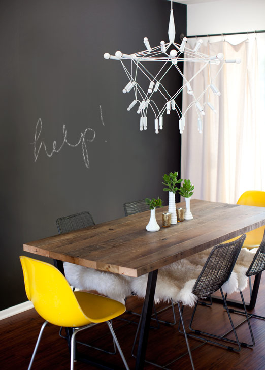 The Chalkboard Wall That Wasn T A House In The Hills