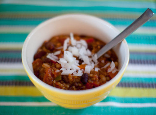 bean chili – A House in the Hills