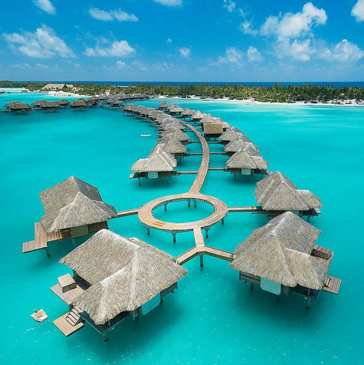 Let s go 4 seasons bora bora a house in the hills for Luxury getaways
