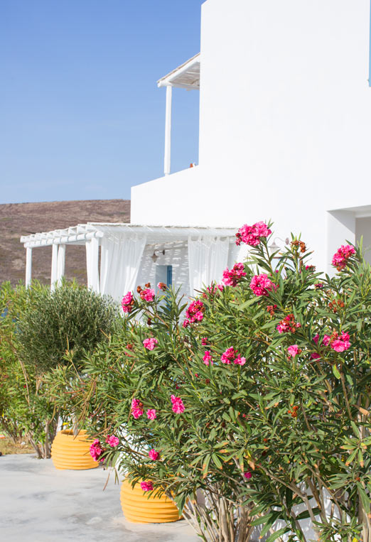 Melian hotel in milos greece a house in the hills for Boutique hotel milos