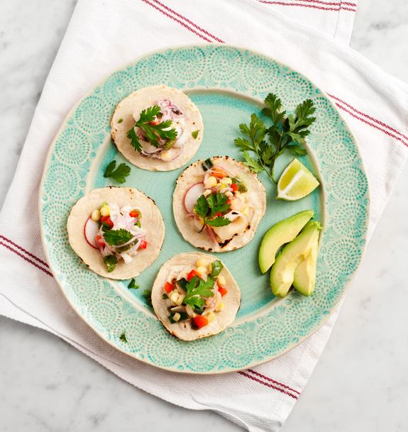 Mexican Ceviche Tacos Recipes — Dishmaps