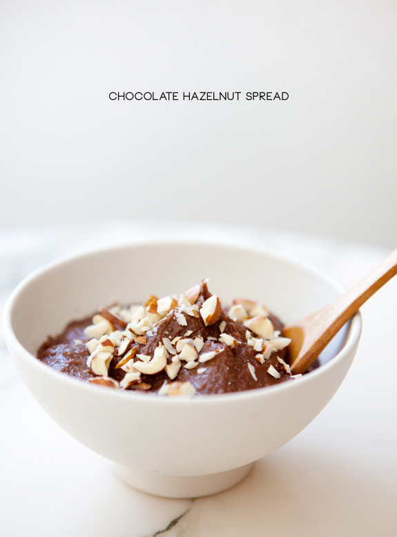 ... chocolate hazelnut spread aka nutella when lou and i were doing our 5