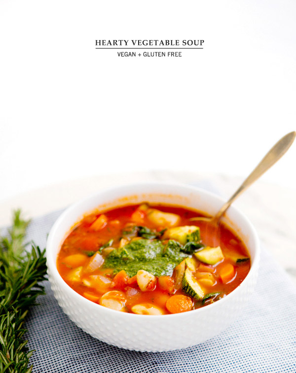 hearty vegetable soup – A House in the Hills