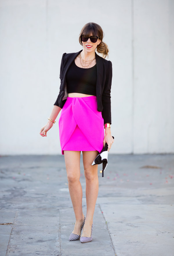 Hot Pink Skirt Outfit | www.pixshark.com - Images ...
