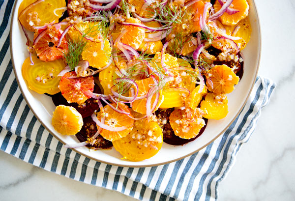 beet and blood orange salad – A House in the Hills