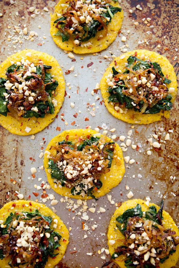 parsley pesto polenta pizzas with kale chard and parsley pesto recipes ...
