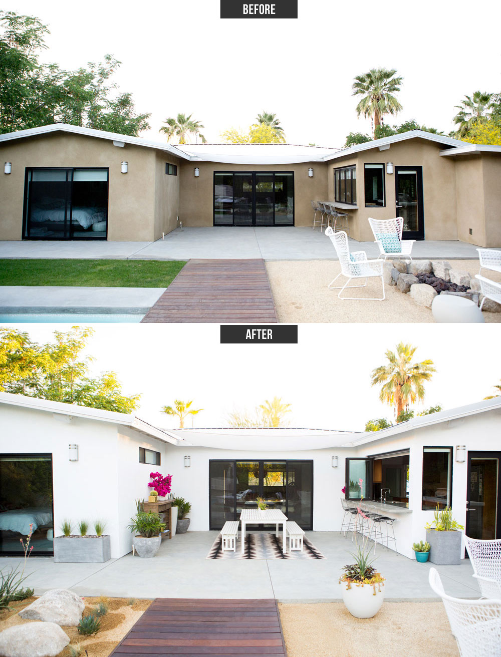 Our Modern Patio Makeover With West Elm A House In The Hills