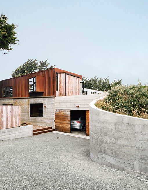 back_at_the_ranch-sea_ranch-cor-ten-steel-board-form-concrete-exterior