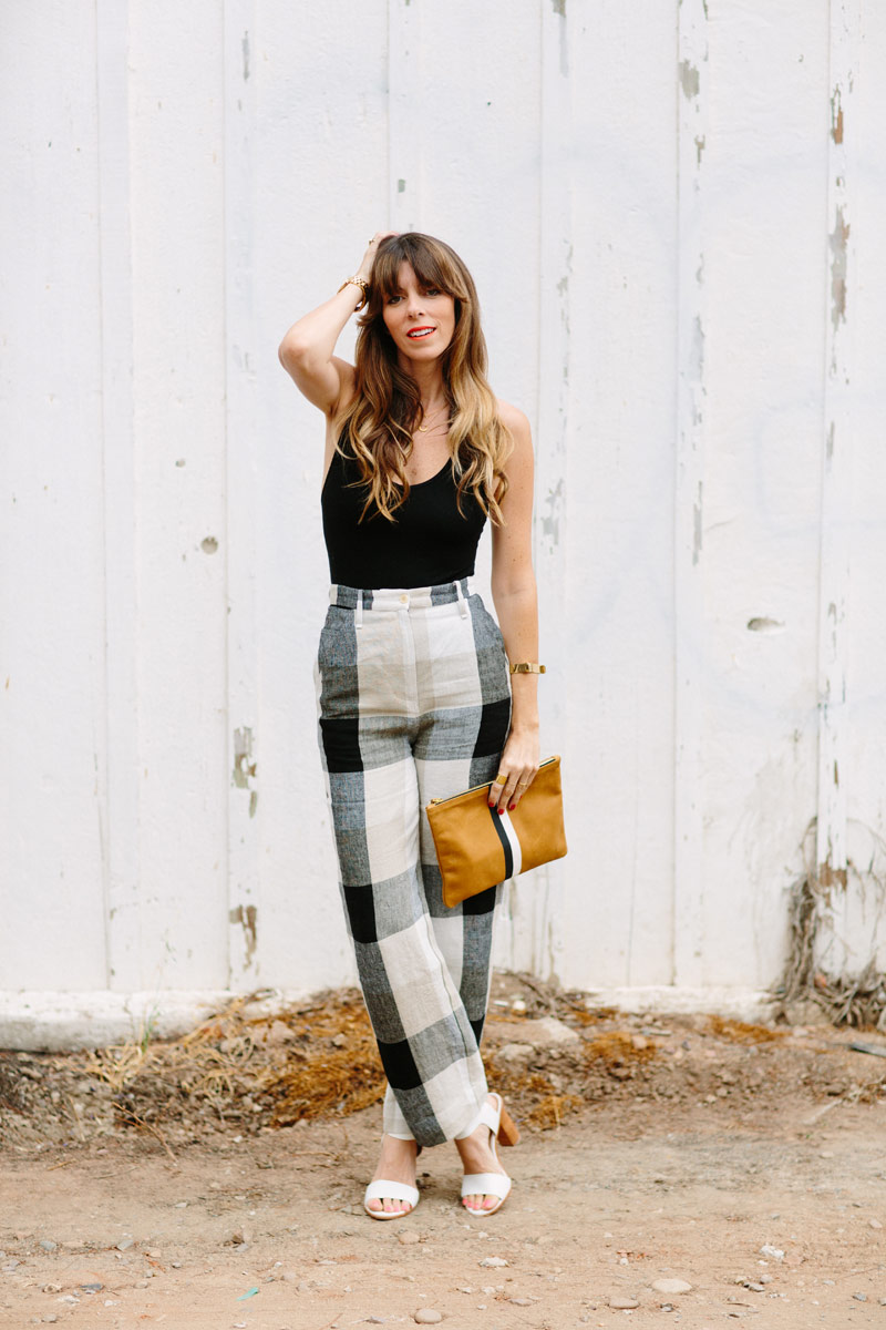 a_house_in_the_hills_Spring_plaid_linen_pants-10