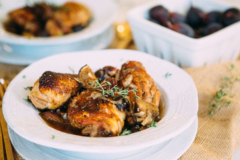 Figgy Olive Chicken